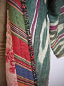 Late 19th century Uzbek silk ikat chapan robe - picture 4