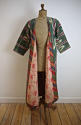 Late 19th century Uzbek silk ikat chapan robe - picture 6