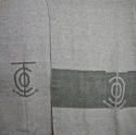 Pair of early 20th century French sea liner blanket rugs - picture 3
