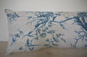 18th century French Chinoiserie toile cushion - picture 4