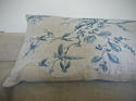18th century French Chinoiserie toile cushion - picture 6