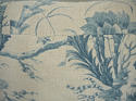 18th century French Chinoiserie toile cushion - picture 8