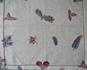 18th century French blockprinted  cotton mouchoir - picture 4