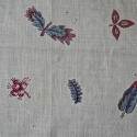 18th century French blockprinted  cotton mouchoir - picture 5