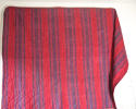Late 18th century French indigo and red striped small quilt - picture 3