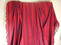 Late 18th century French indigo and red striped curtain - picture 2