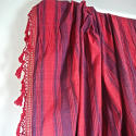 Late 18th century French indigo and red striped curtain - picture 4