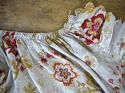 Late 19th century French faded print cotton Curtain - picture 4