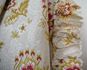 Late 19th century French faded print cotton Curtain - picture 5