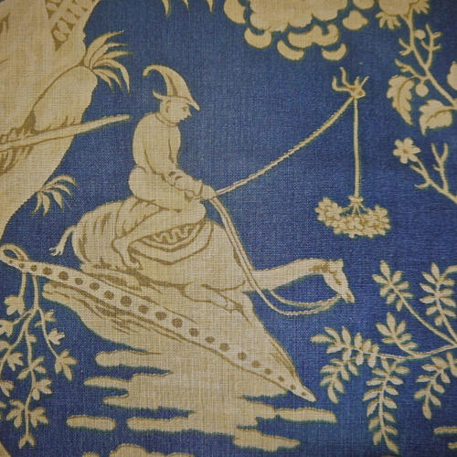 Chinoiserie Toile Greetings Card