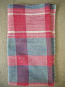 19th century French Faded Indigo and Red Mouchoir - picture 3