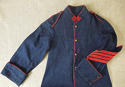 Late 19th century French childs pompier jacket - picture 1