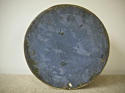 19th centuiry American round blue pantry box - picture 4