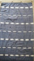 Early 19th century French indigo flamme ikat panel - picture 1