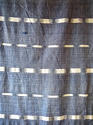 Early 19th century French indigo flamme ikat panel - picture 3