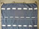 Early 19th century French indigo flamme ikat panel - picture 4