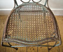 Late 19th century French green garden chair - picture 5