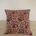 18th century French naive toile cushion - picture 1