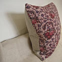 18th century French naive toile cushion - picture 4