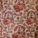 18th century French Bolbec naive toile cushion - picture 4