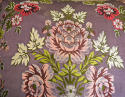 18th century French lilac pink floral silk cushion - picture 2