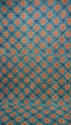 19th century French blockprinted quilt section - picture 1