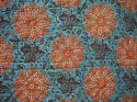 19th century French blockprinted quilt section - picture 4
