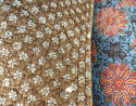 19th century French blockprinted quilt section - picture 5