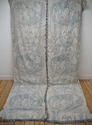 Pair of 19th century French blue toile linen curtains - picture 2