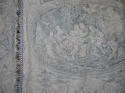 Pair of 19th century French blue toile linen curtains - picture 3