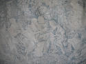 Pair of 19th century French blue toile linen curtains - picture 4