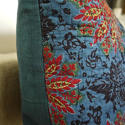 Early 19th century French blockprinted  cushion - picture 3