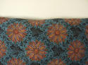 Early 19th century French blockprinted  cushion - picture 2