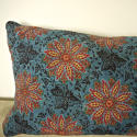 Early 19th century French blockprinted  cushion - picture 5