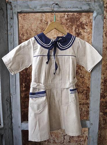 Circa 1920s French childs dress