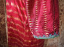 Early 20th century Aleppo red silk ikat robe - picture 5