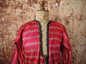 Early 20th century Aleppo red silk ikat robe - picture 6