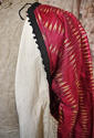 Early 20th century Aleppo red silk ikat robe - picture 7