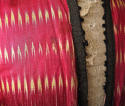 Early 20th century Aleppo red silk ikat robe - picture 8