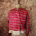 Early 20th century Aleppo red silk ikat jacket - picture 2