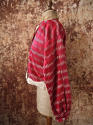 Early 20th century Aleppo red silk ikat jacket - picture 3