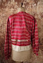 Early 20th century Aleppo red silk ikat jacket - picture 4