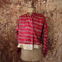 Early 20th century Aleppo red silk ikat jacket - picture 6