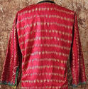 Early 20th century Aleppo red silk ikat jacket - picture 7