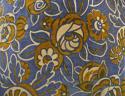 French c.1920s Art Deco cotton velvet cushion - picture 2