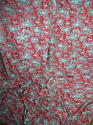 Pair of birds and foliage cotton curtains - picture 1