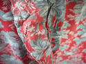 Pair of birds and foliage cotton curtains - picture 10