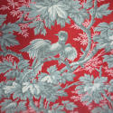 Pair of birds and foliage cotton curtains - picture 3