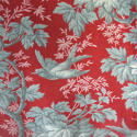 Pair of birds and foliage cotton curtains - picture 4