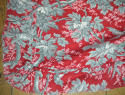 Pair of birds and foliage cotton curtains - picture 6